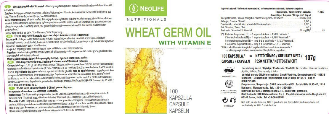 neolife-wheat-germ-oil