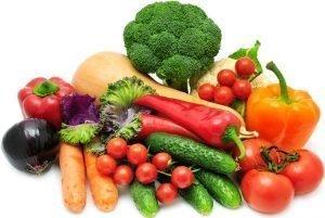 vegetali a basso contenuto carboidrati